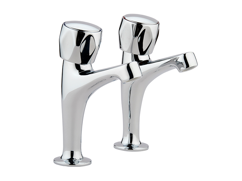 Chrome High Neck Sink Taps