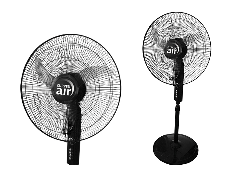 """18"""" Black Pedestal Fan"""
