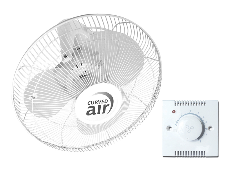 """16"""" Oscillating Ceiling Fan With Remote Control"""