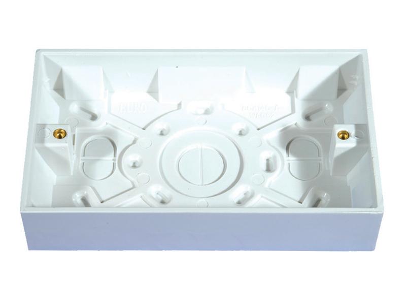 Pattress Box - 2 Gang 25mm