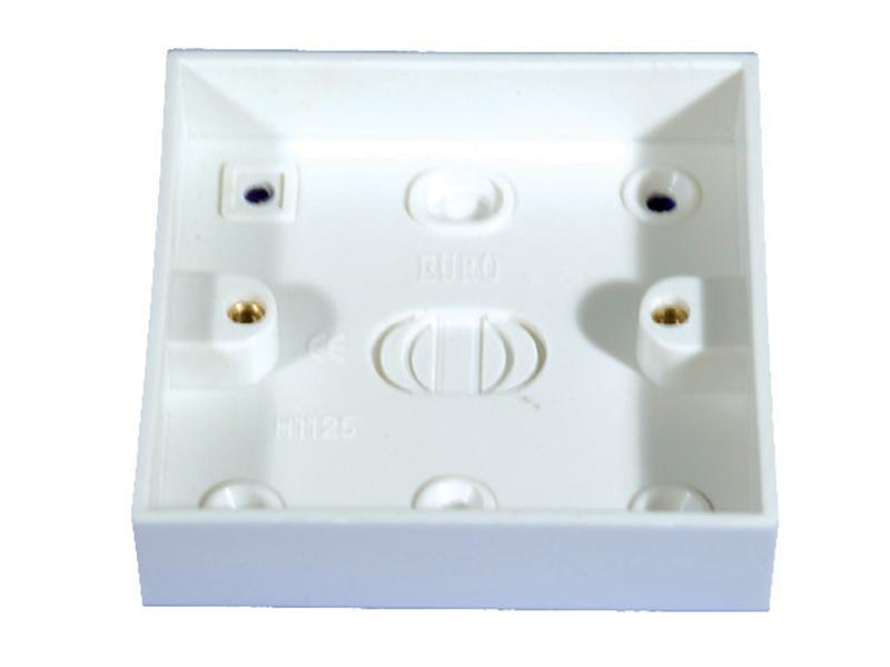 Pattress Box - 1 Gang 16mm
