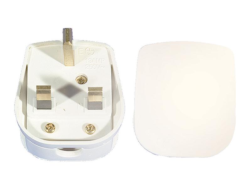 13 Amp Fused 3 Pin Unbreakable Plug