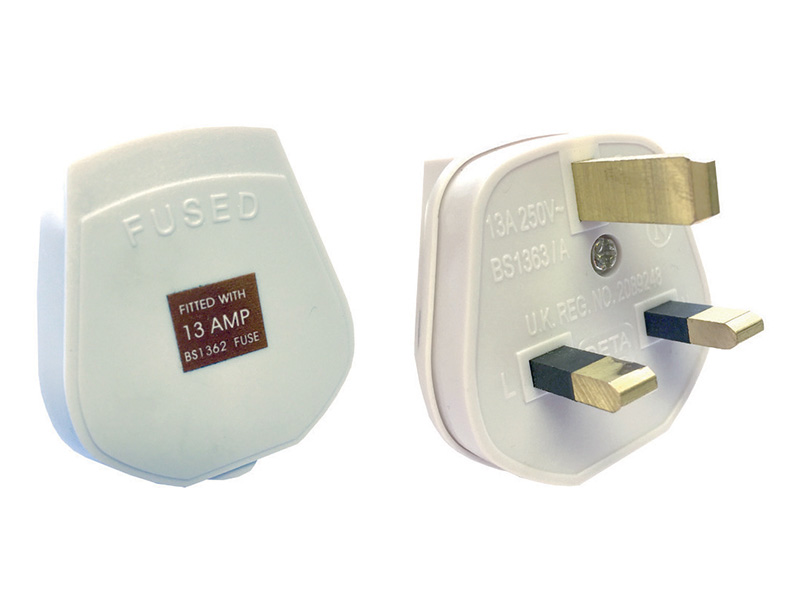 'Tough Plug' 13 Amp Fused 3 Pin