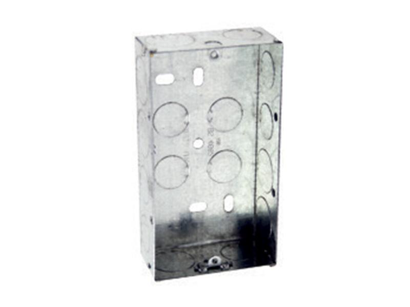 Double Metal Flush Box