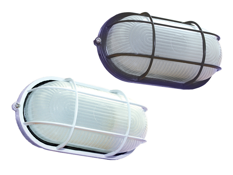 Oval Bulkhead Light Fixture