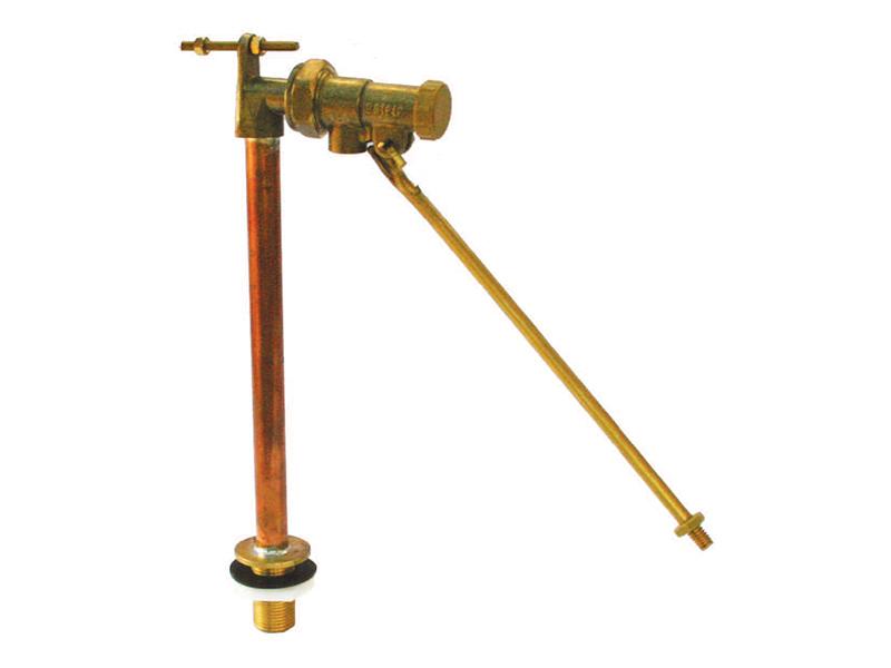 BS1212 Bottom Inlet Brass Ballvalve
