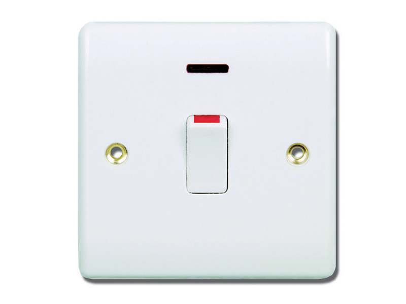 Water Heater Switch With Neon