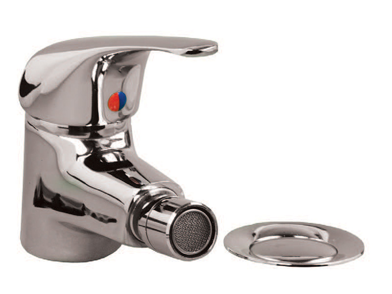 Chrome 1-hole Bidet Mixer Tap