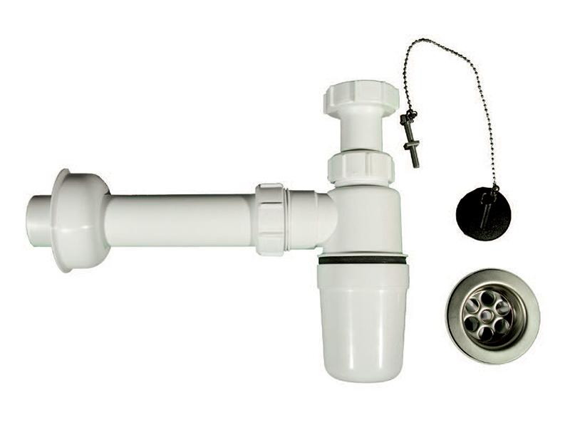 Plastic Adjustable Bottle Trap Kit