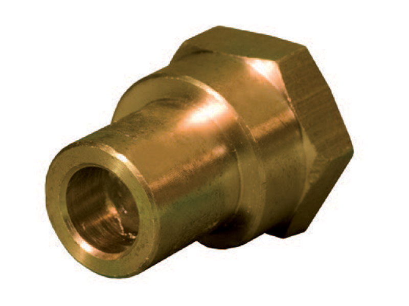 Female Connector - End Feed