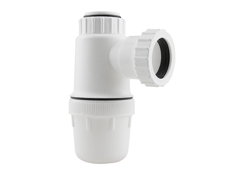 Standard Fixed Inlet Anti-Vac Bottle Trap